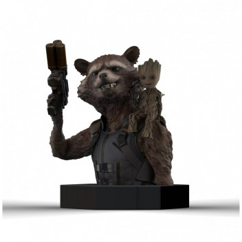 MARVEL BUST ROCKET - GUARDIANS OF THE GALAXY VOL. 2