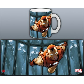 MARVEL MUG IRON MAN - HALL OF ARMOR