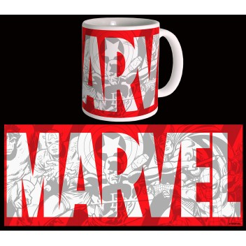 MARVEL MUG COMICS - BIG LOGO