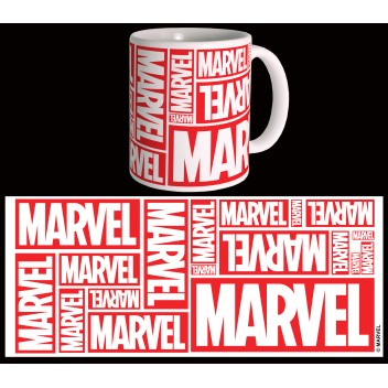 MARVEL MUG COMICS - MULTIPLE LOGO