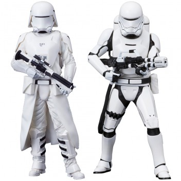 FIRST ORDER SNOWTROOPER & FLAMETROOPER 2 PACK