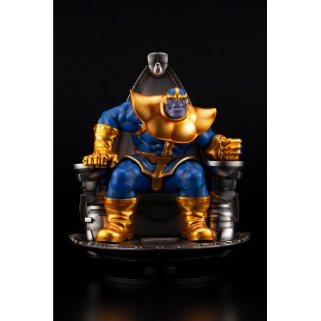 THANOS ON SPACE THRONE - FINE ART STATUE