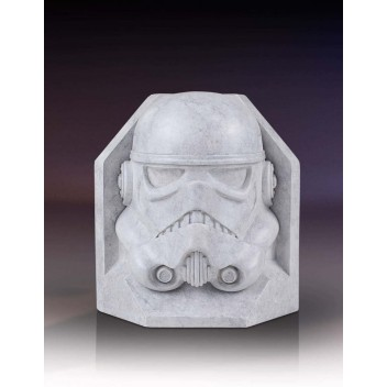 STORMTROOPER STONEWORKS FAUX MARBRE BOOKENDS - STAR WARS