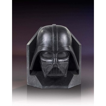 DARTH VADER STONEWORKS FAUX BRONZE BOOKENDS - STAR WARS