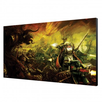 LAMINAGE 60x40 - DARK ANGELS IN BATTLE - WARHAMMER 40K