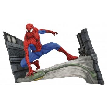 "MARVEL COMIC GALLERY - SPIDER-MAN ""WEBBING"" PVC DIORAMA"