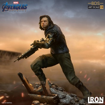 AVENGERS ENDGAME WINTER SOLDIER BDS 1/10 STATUE