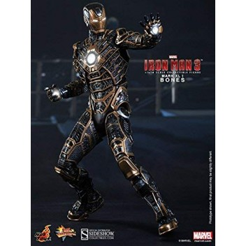 IRON MAN 3 - MARK XLI - BONES 1/6 MMS FIGURE