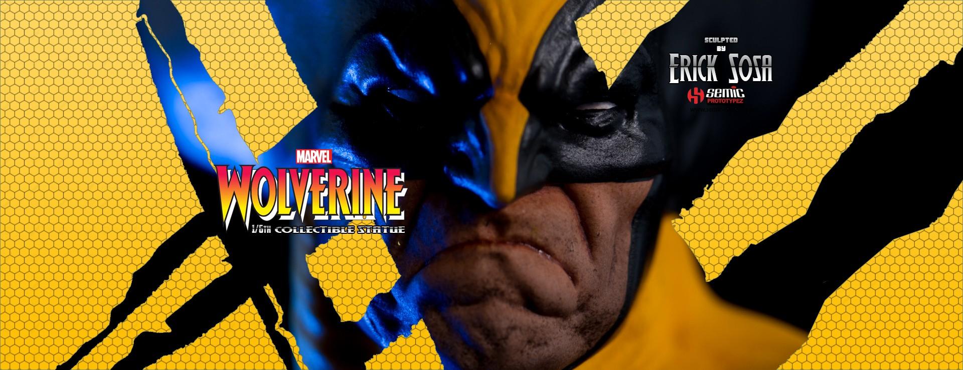 Wolverine statue prototypeZ