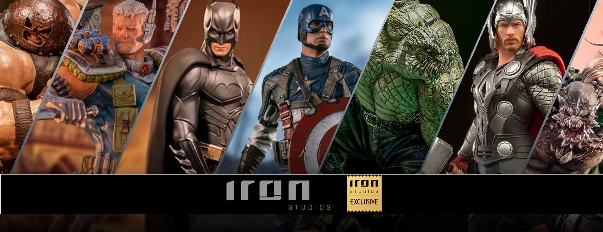 iron studios exclusives