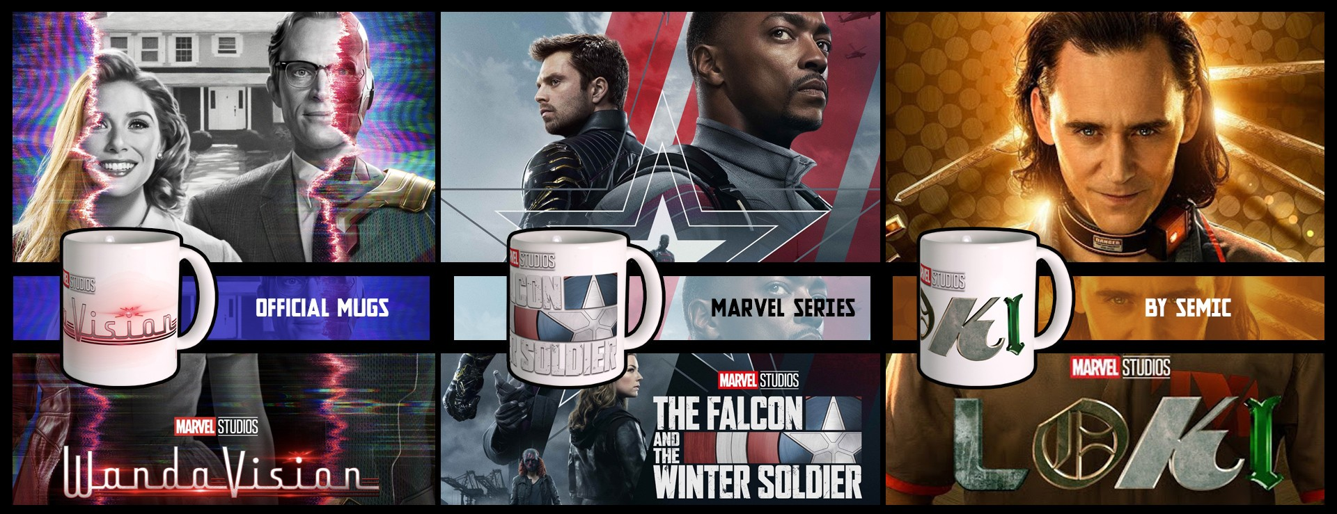Marvel mugs - Disney+